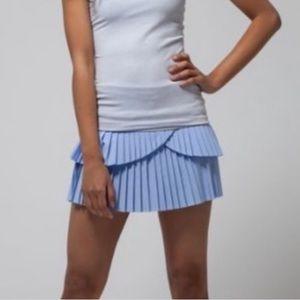 Lululemon Ivivva pleat the heat skirt size 14